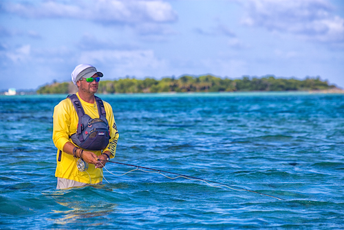 Fly Fishing at Glovers Reef