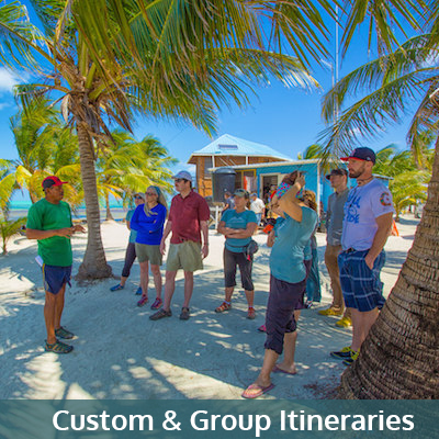 Custom and Group Itineraries Belize
